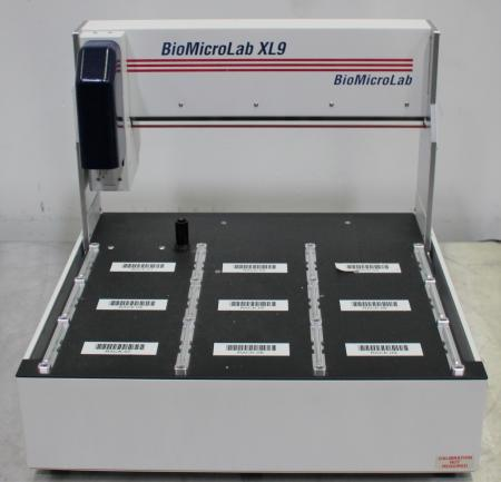 BioMicroLab XL9 Tube Handler