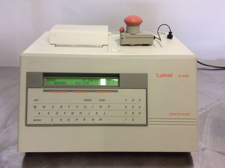 Berthold - Lumat LB 9501 Single Tube Luminometer Injector Printer