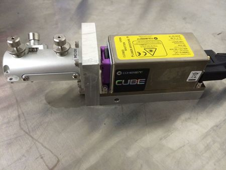 COHERENT CUBE  Diode Laser System 404nm/ 50mW 1069413 (parts)