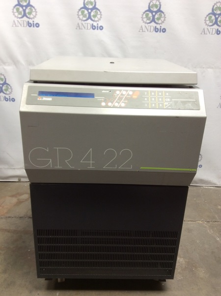 Jouan GR4-22 Refrigerated Centrifuge w/swinging bucket rotor ( FOR PARTS )