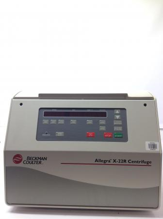 Beckman Coulter Allegra X-22R  Refrigerated Centrifuge W/ ROTOR