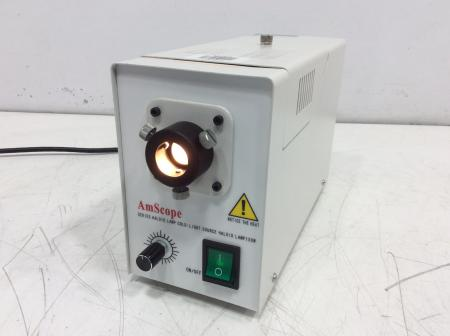 AmScope Series Haloid Lamp Cold-Light Source Haloid Lamp 150W