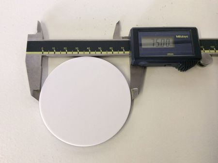 Fisher Scientific 75mm Reversible Microscope Stage Plate MP-SSP-BW