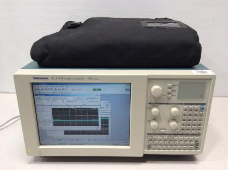 Tektronix TLA 714 Logic Analyzer Color Portable Mainframe