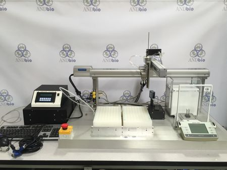 J-Kem Polymer Compounding Robot