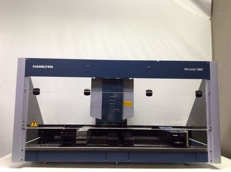 Hamilton Microlab Star Robotic Liquid Handling Workstation