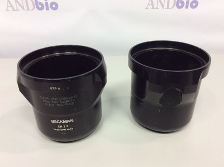 Beckman Coulter - Centrifuge Swing Buckets GH 3.8 3750 RPM MAX. 635g