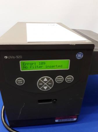 GE Healthcare Bio-Sciences AB Absorbance Monitor UVis-920