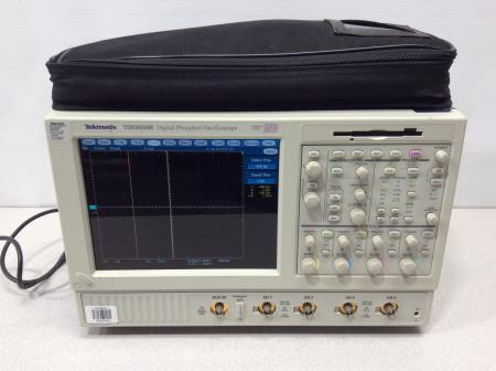 Tektronix TDS5034B Digital Phosphor Oscilloscope 350MHZ 5GS/s,  w/software