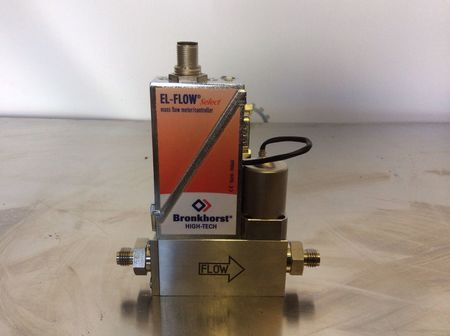 Bronkhorst High-Tech El-Flow - Mass Flow Meter/ Controller Model F-201AV-50K-DGD-22-V