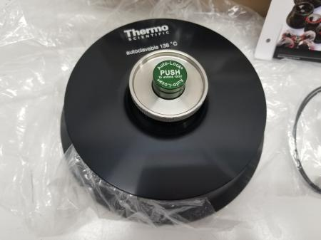 Thermo 75003602 Microliter 48 x 2mL Sealed Aluminum Fixed Angle Rotor NEW in BOX - 3