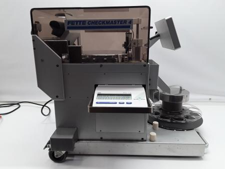 Fette Checkmaster 4 Tablet Tester w/ Mettler Toldeo AB54 Scale
