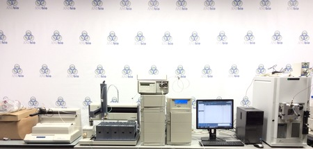 Perkin Elmer - Flexar SQ 300 MS detector with Gilson HPLC System