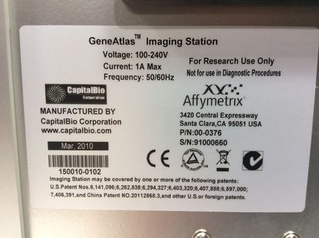 Affymetrix GeneAtlas Fluidic Station, GeneStrip Scanner PS1000, Software & more! - 13