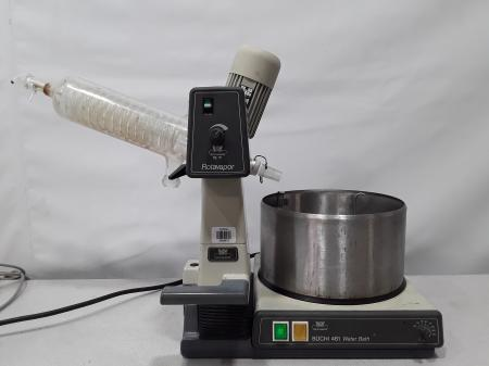 BUCHI RE-111 Rotavapor W/ 461 Water Bath Laboratory