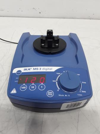 IKA MS3 Digital Microplate Shaker Variable Speed