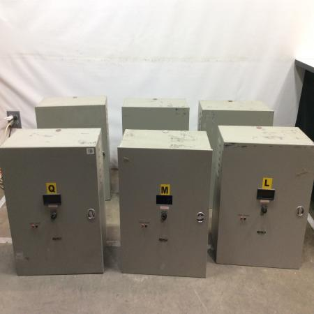 Staco AVR Voltage Regulator Power Conditioning (Lot of 6) 1ph 50/60hz 40amp 10Kv