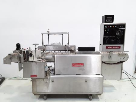Accraply 4000L  Automatic Pressure Sensitive Conveyorized Labeler