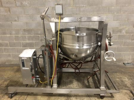 Hamilton 60 Gallon Steam Jacketed Kettle Style CW Kettle w/ Controller