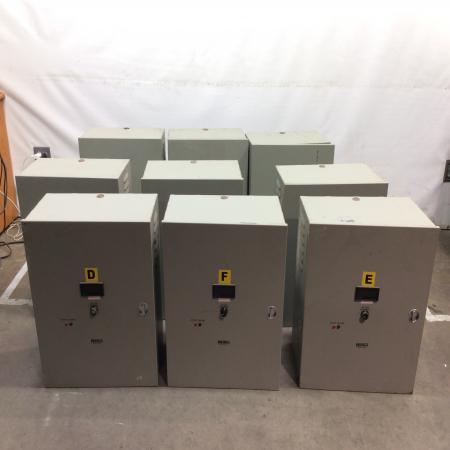 Staco AVR Voltage Regulator Power Conditioner (Lot of 9) 1ph 50/60hz 40amp 10Kv