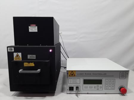 RMI Laser Division LE-100SB Laser Diode System with Controller F-00307QS